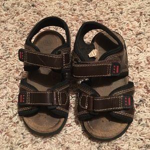 TKS Boys Toddler Size 8M Brown Sandals